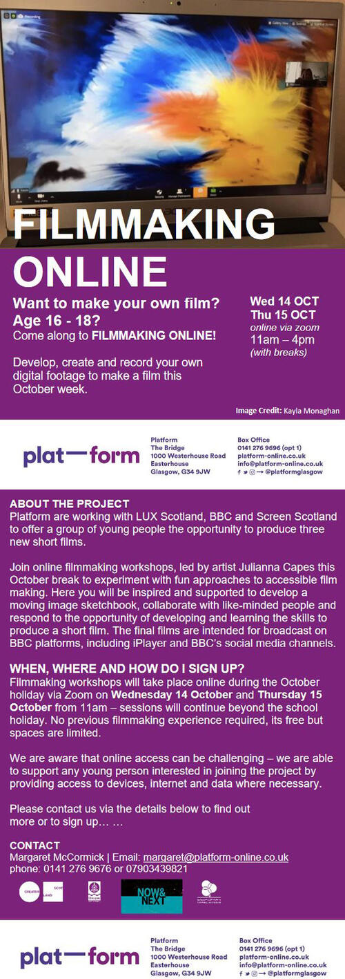 Platform: Film Making Online