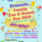 Family Fun Games Day 2019