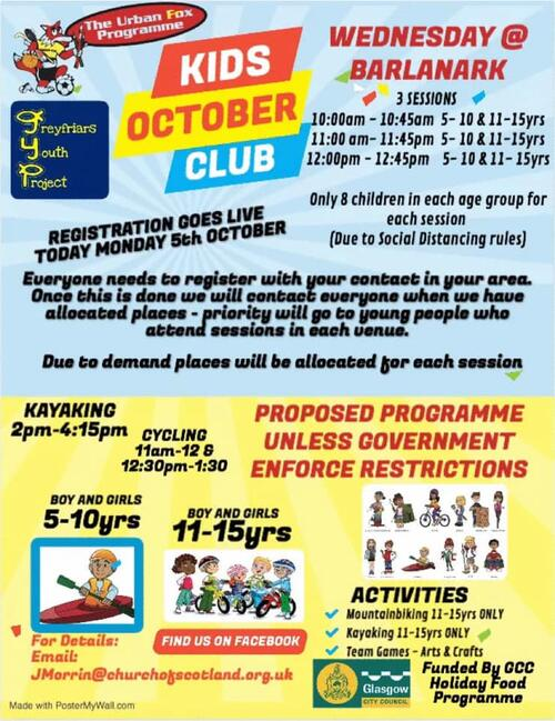 Kids October Club