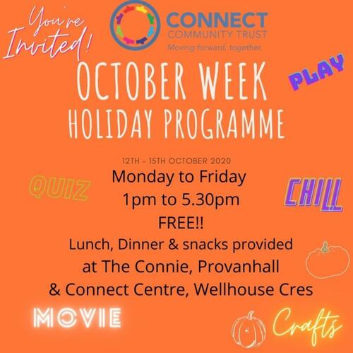 October Week Holiday Programme