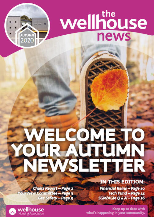Wellhouse Newsletter Autumn 2020